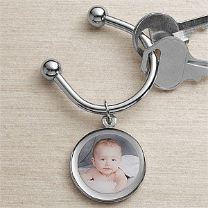 Personalized Photo Key Ring - 9380D