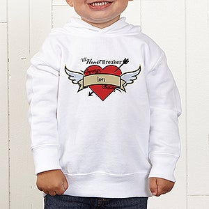 Personalization Mall Personalized Toddler Hoodie - Heartbreaker at Sears.com