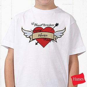 Personalized Kids Clothes - Little Heartbreaker - 9388