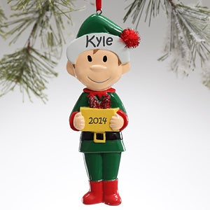 Personalized Family Character Personalized Chrismas Ornaments - 9397