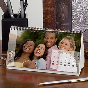 personalized photo desk calendars any 12 months