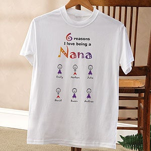 Personalization Mall Personalized T-Shirt for Ladies - Reasons Why Collection at Sears.com