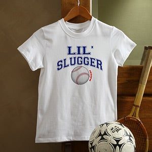 Personalization Mall Little Slugger Childrens Personalized Baseball Shirt at Sears.com