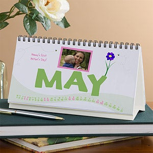 Personalized Desk Calendars with Photos - Happy Holidays - 9476