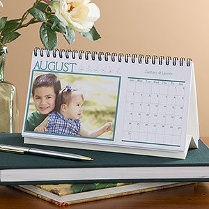 Photo Desk Calendar - Through The Year - 9477