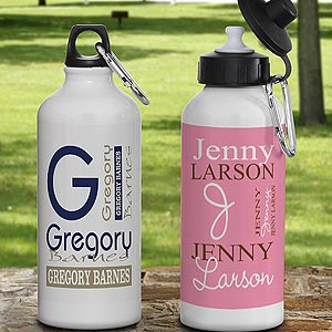 Personalized Aluminum Water Bottle - Personally Yours - 9539