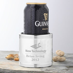 Personalized Corporate Engraved Logo Can Cooler - 9554