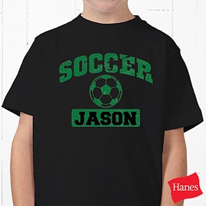 Custom personalized sports black t shirts for Meadowood mall custom t shirts
