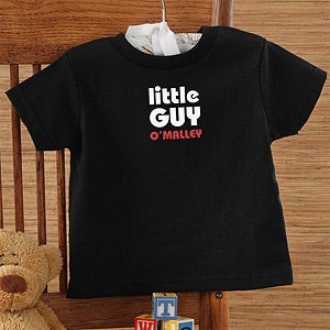 Personalization Mall Black Personalized Baby T-Shirts - Little Guy at Sears.com