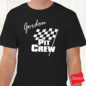 Checkered Flag Personalized Car Racing Clothing - 9587