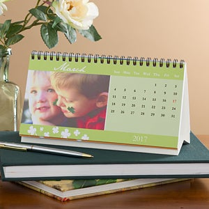 Personalized Photo Desk Calendars - Seasons Change - 9594