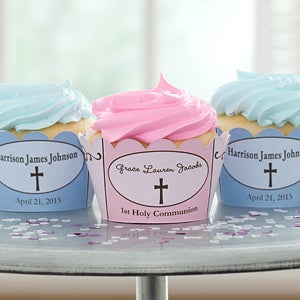 Personalized Cupcake Wrappers - Precious Prayer - 9645