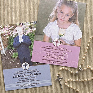 Photo First Communion Invitations - Special Day - 9662