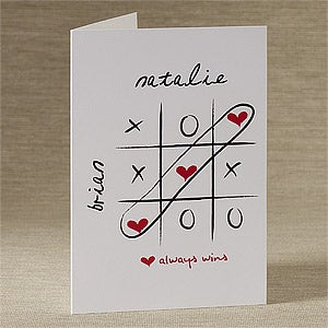 Personalized Greeting Cards - Love Always Wins - 9684