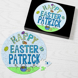 Personalized Easter Puzzle - Easter Fun - 9687