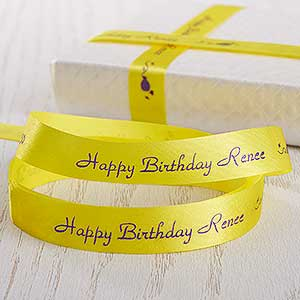 Personalized Gift Ribbon for Birthdays - 9761D