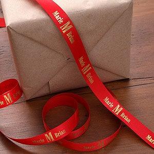 Personalized Monogram Ribbon - 9762D