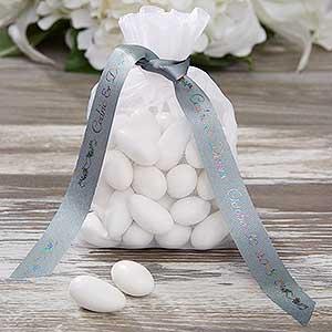 Personalized Wedding Custom Printed Favor Ribbon - 9766D