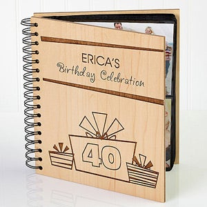 Birthday Gifts Personalized Photo Album - 9848