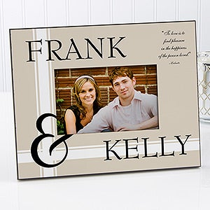personalized love picture frames romantic love