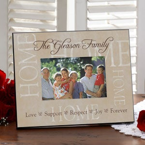Personalized Picture Frames - Sentiments of the Home - 9857