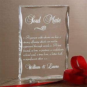 Personalized Gifts - Soul Mate Keepsake Sculpture - 9862