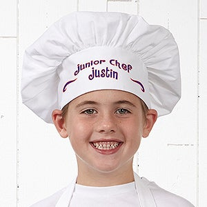 Personalized Chef Hat for Kids - 9886