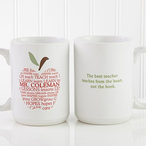 Personalized Coffee Mug For Teachers Le 9915