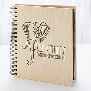 Personalized Corporate Engraved Logo Photo Album - 9937