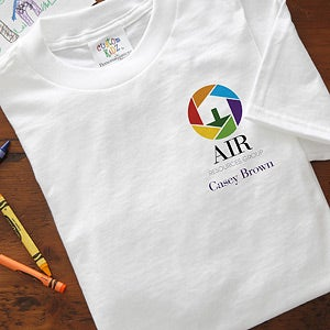 Personalized Corporate Custom Logo Youth T-Shirt - 9951