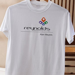 Personalized Corporate Custom Logo Adult T-Shirt - 9954