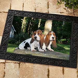 Custom Personalized Photo Doormats   Digital Picture Door Mat   9979