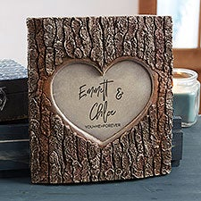Romantic Couple Personalized Resin Tree Trunk Sculpture - 30032