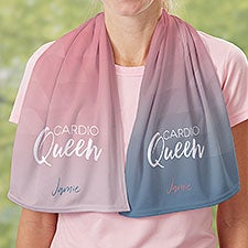 Workout Inspiration Personalized Cooling Towel - 30167