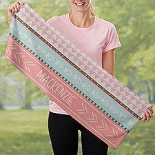 Bohemian Chic Personalized Cooling Towel - 30170