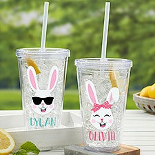 Build Your Own Bunny Personalized Acrylic Insulated Tumblers - 30236