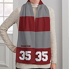 School Spirit Personalized Women's Fleece Scarf - 30278