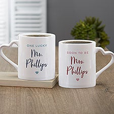 Mr. and Soon To Be Mrs. Personalized Mug Set - 30315