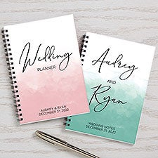 Wedding Planner Personalized Mini Journals - Set of 2  - 30317