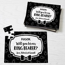 Will You Be Our Ring Bearer Personalized Puzzles - 30323