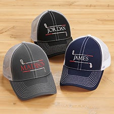 Golf Club Embroidered Trucker Hats - 30495