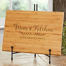 Recipe for a Special Mom Personalized Bamboo Cutting Boards - 30753