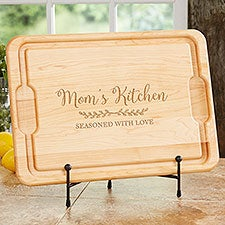Recipe for a Special Mom Personalized Maple Cutting Boards - 30754