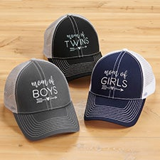 Mom Of... Embroidered Trucker Hats - 30814