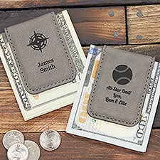 Choose Your Icon Personalized Magnetic Money Clip - 31013