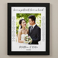 Love Is Patient Personalized Matted Frames - 31316