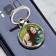 Personalized Photo Phone Ring Holder - 31348