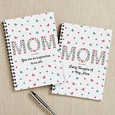 Floral Mom philoSophie's Personalized Mini Journals - 31478