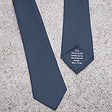 Personalized Secret Message Men's Tie - 31498