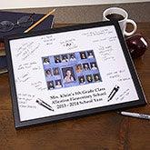 Personalized Class Portrait Signature Mat Frame - 3161